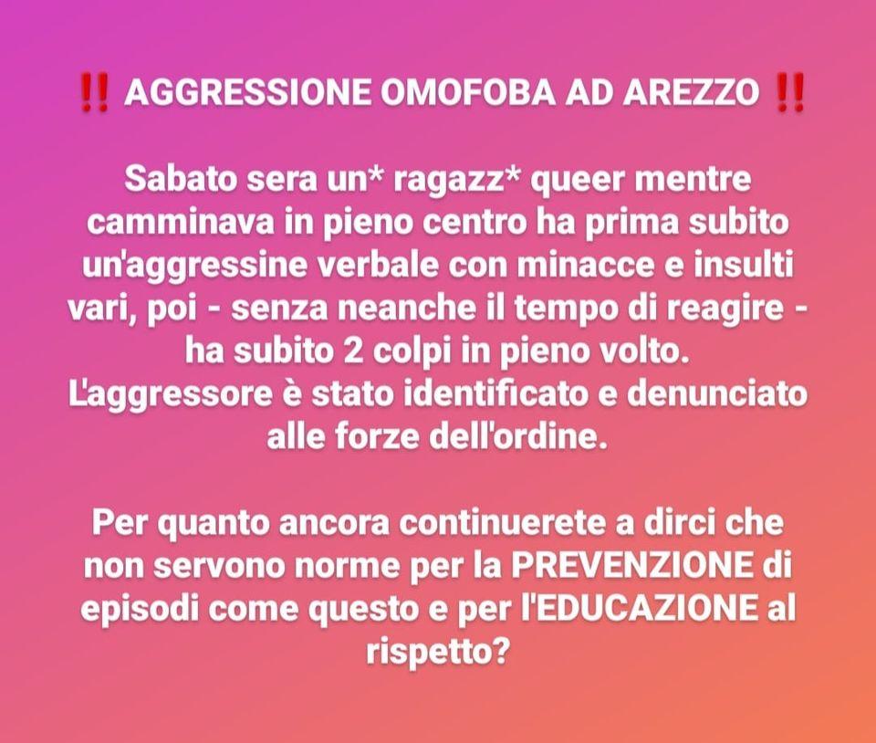 aggressione omofoba