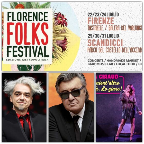 Florence Folks Festival: 29 – 31 luglio a Scandicci