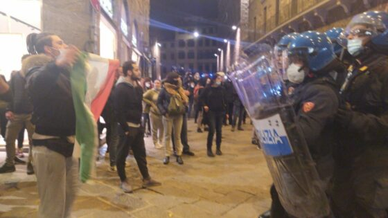 Firenze: Comune chiede costituirsi parte civile per scontri 30 ottobre