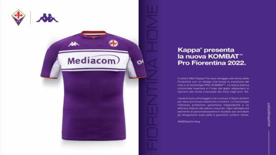 Fiorentina, torna il Giglio dei Pontello sulle maglie