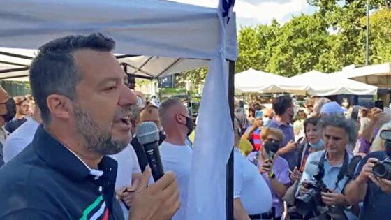 Salvini, MPS: raccoglieremo firme per renderlo terzo polo bancario