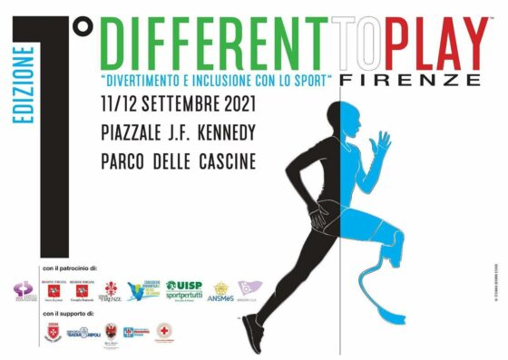 """🎧 Inclusione e sport: arriva a Firenze """"Different to play"""""""