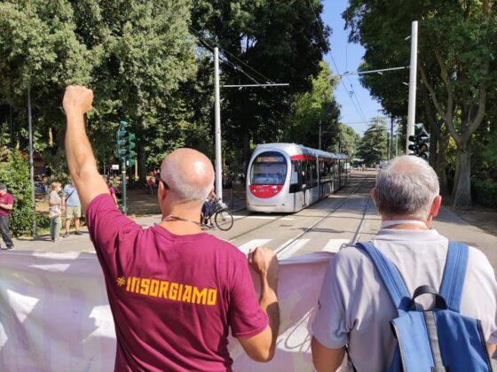 Un sabato di piazza, tre cortei a Firenze. Lungo i viali 'Insorgiamo' con la Gkn