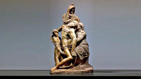 Michelangelo costretto abbandono della 'Pietà' per difetti marmo