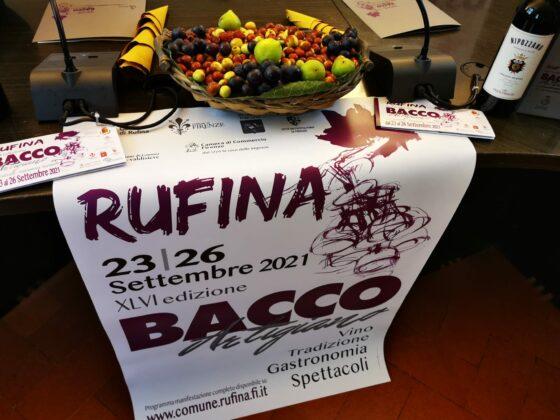 Rufina ritrova il Bacco Artigiano, la festa del vino e della comunità