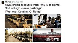 SITE: NUOVE MINACCE VIA TWITTER DI ISIS A ROMA