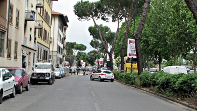 INCIDENTE MORTALE IN VIALE REDI