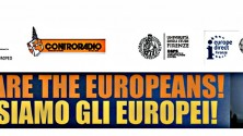 WE ARE THE EUROPEANS! – NOI SIAMO GLI EUROPEI!