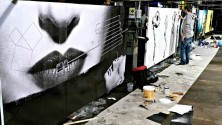 """""""THE CURE STREET ART ACTION"""", LE OPERE DEGLI """"STREET ARTISTS"""""""