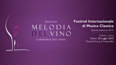 """25.07 – """"MELODIA DEL VINO"""", VINO E MUSICA CLASSICA"""