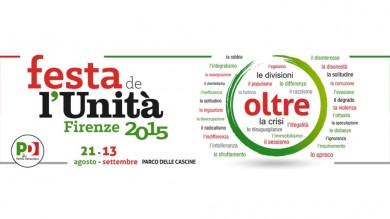 🔈 21.08>13.09 – FESTA DE L'UNITÀ FIRENZE 2015