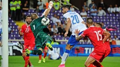 FIRENZE, L'ITALIA FATICA MA BATTE MALTA: 1-0