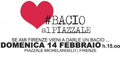 #BACIOALPIAZZALE, SAN VALENTINO A FIRENZE