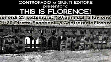 FLOWER AL PIAZZALE – THIS IS FLORENCE – 50 ANNI DALL'ALLUVIONE