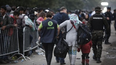 FIORENTINA-MILAN: IN CAMPO OXFAM PER BIMBI IN FUGA DA GUERRE