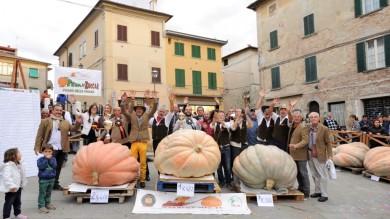 FESTA DELLA ZUCCA: IN TOSCANA CONFRONTO TRA LE PIU' GRANDI D'ITALIA