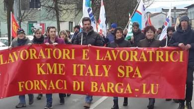 FORNACI DI BARGA (LU): LAVORATORI KME APPROVANO ACCORDO