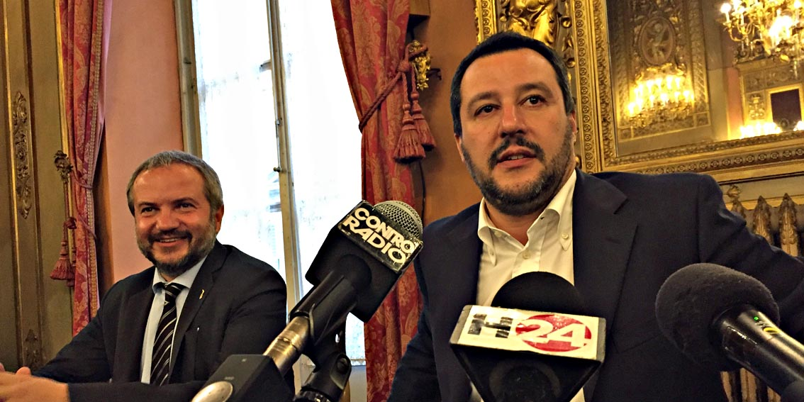 Salvini a Firenze: