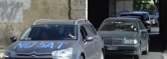 TIRRENICA: 'SERPENTE'  DI 250 AUTO CONTRO PROGETTO SAT