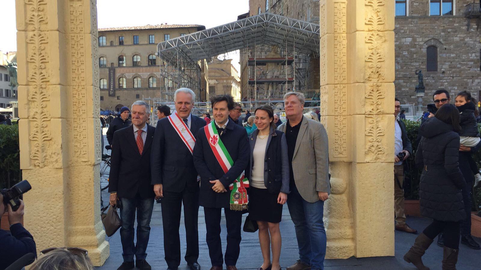 arco di Palmira piazza della signoria g7