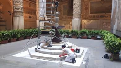 PARTE 'ADOTTA UN MONUMENTO': SI INIZIA DALLA FONTANA DI MICHELOZZO